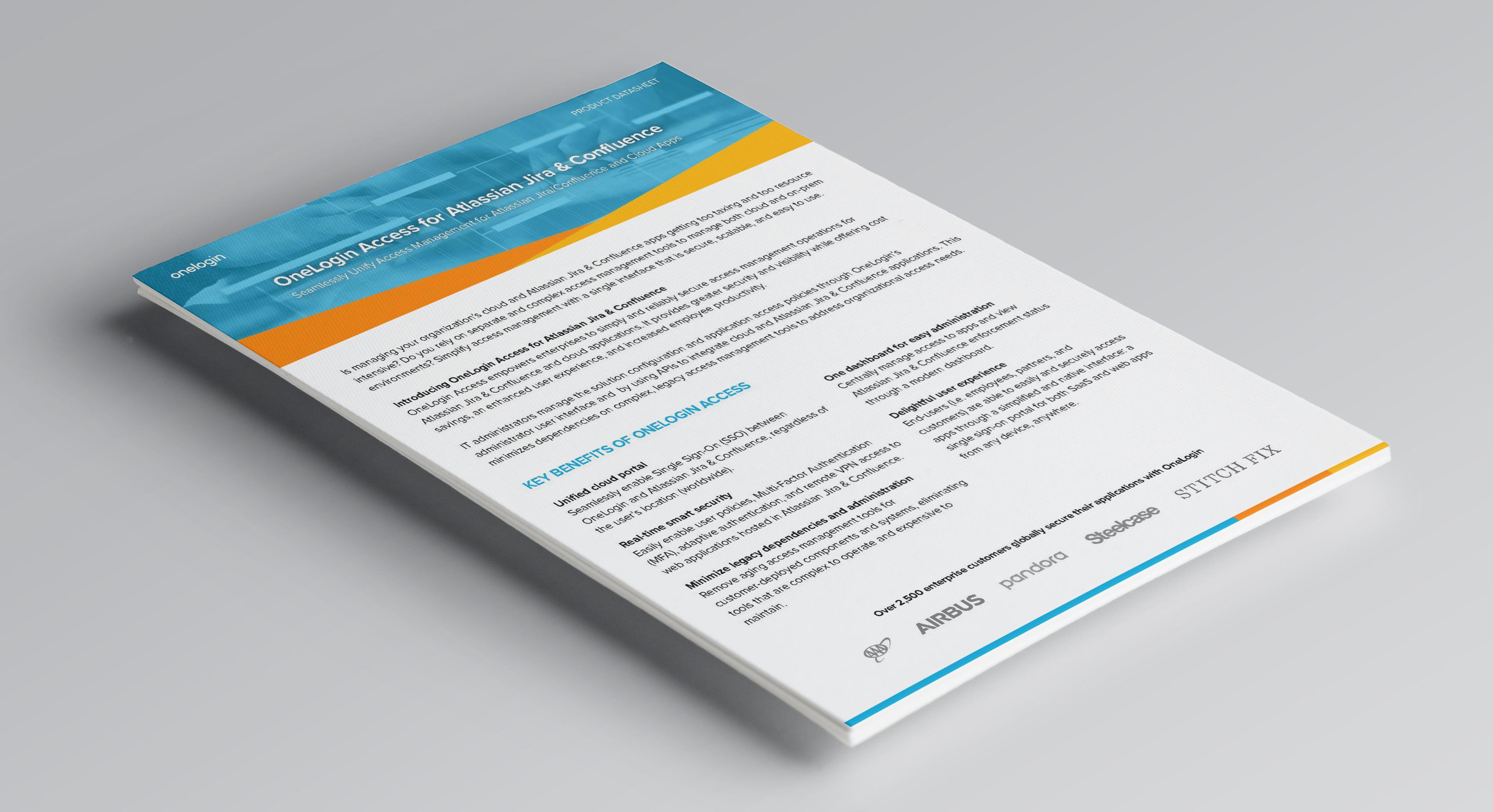 OneLogin Access for Atlassian Jira & Confluence