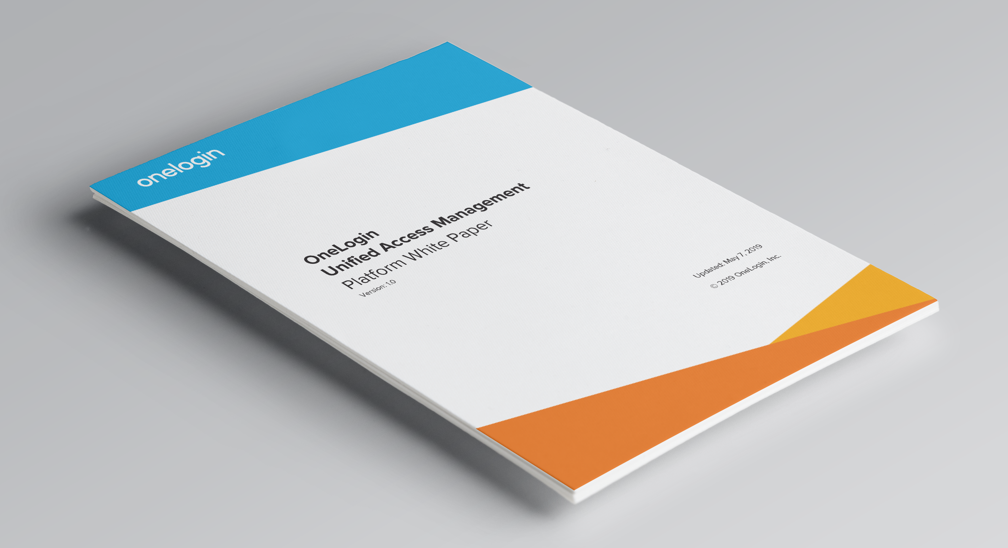 OneLogin Unified Access Management Platform Whitepaper